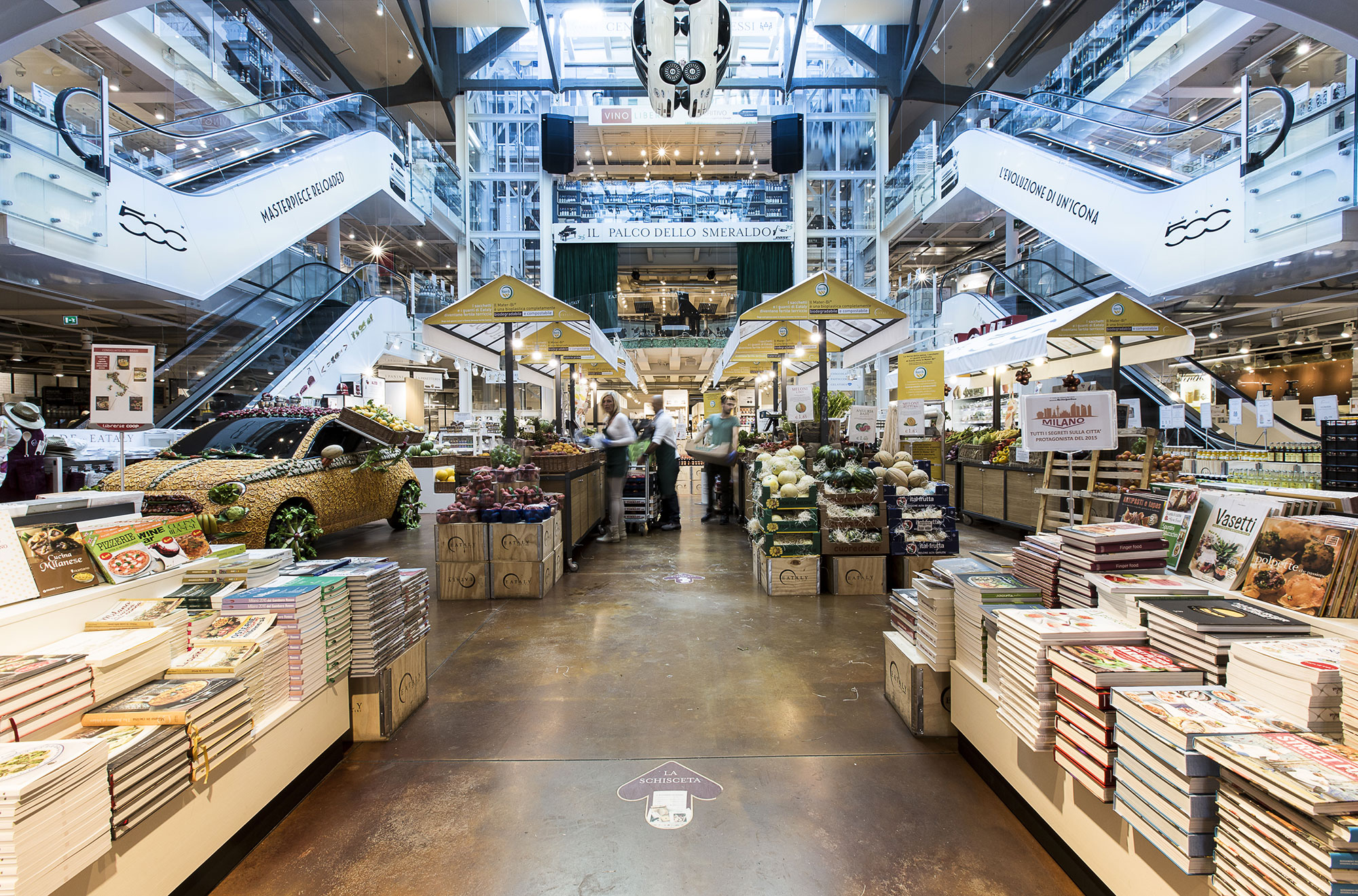 Escalators & Lifts for Eataly in Milan, Italy