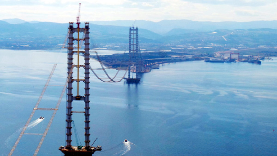 Four Elevators for the Longest Bridge in Europe