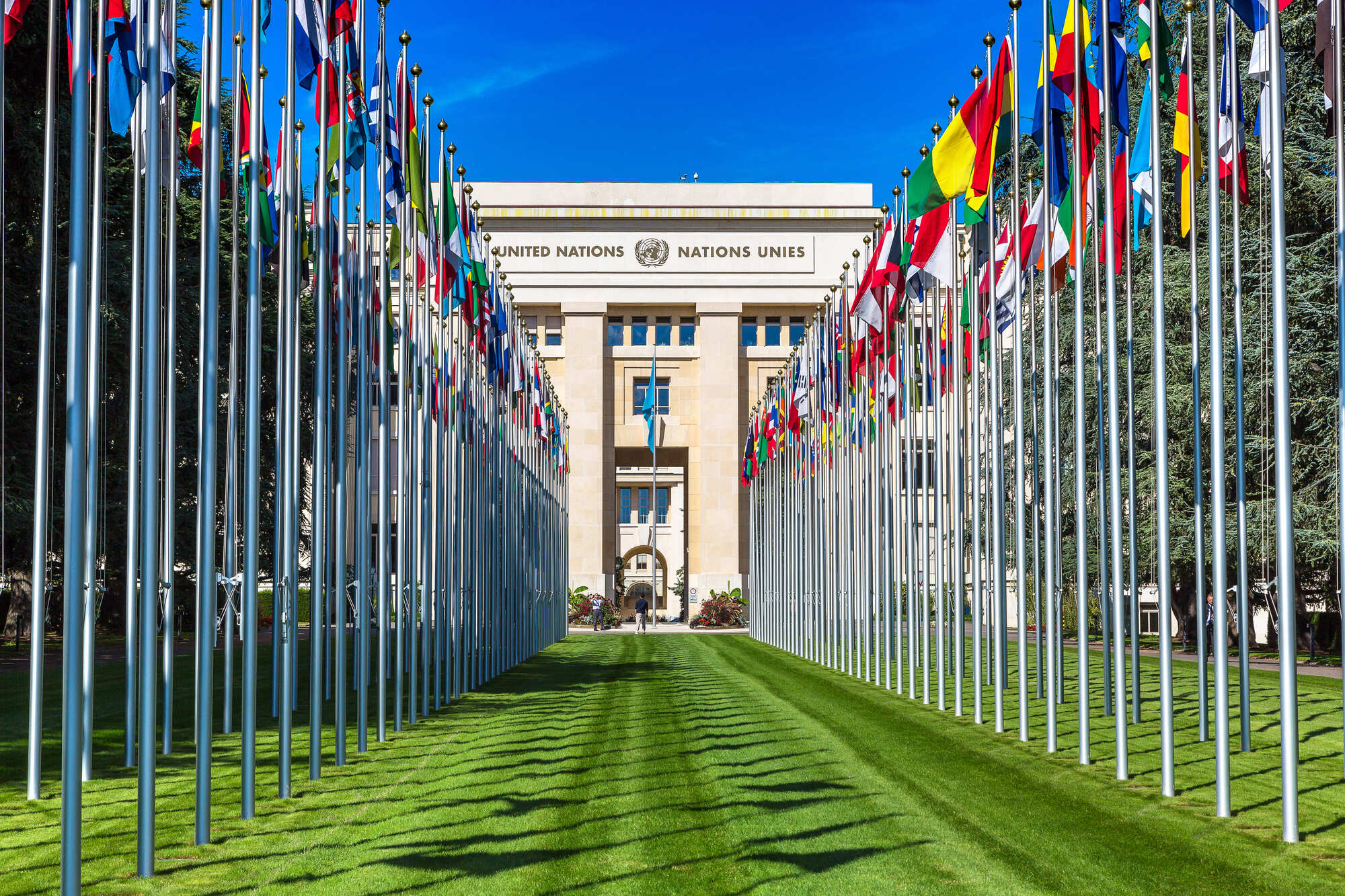 Made In Italy lifts for the UN Headquarters in Geneva. Technology and reliability.